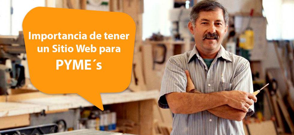 Importancia Web para PYMES