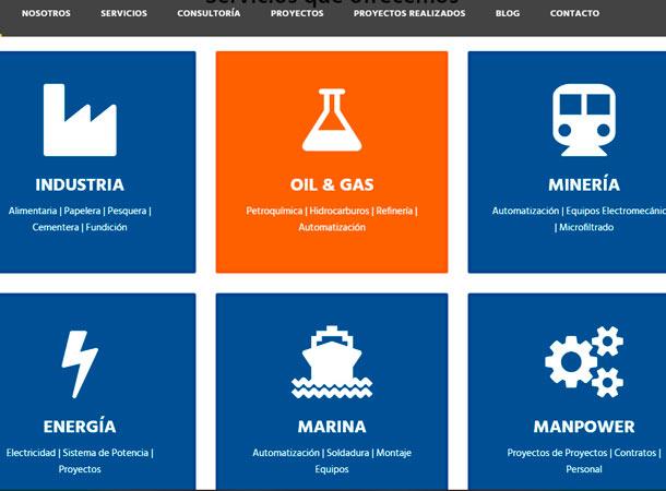 Diseño Web administrable EDEMAQ realizado por gscreativas