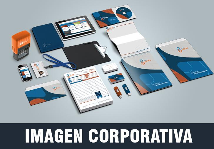 Creamos imagen corporativa a tu marca, con diseño creativo y profesional