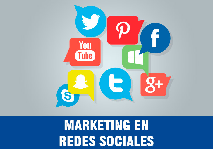 Marketing en Facebook, Instagram, Linkedin, twitter