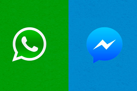 chat whatsapp facebook gscreativas
