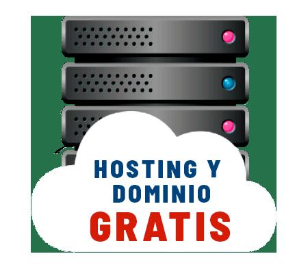 Hosting y dominio gratis por 1 año